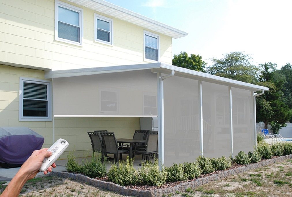 Superieur Aristocrat Retractable Screens. Sunny Day Building And Remodeling Is Proud  To Be An Authorized Aristocrat Awning And Sun Shade Dealer.
